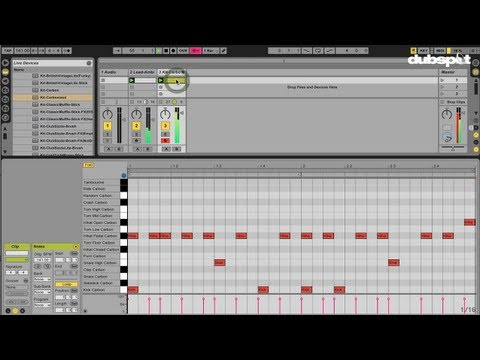 Working with MIDI files – Ableton