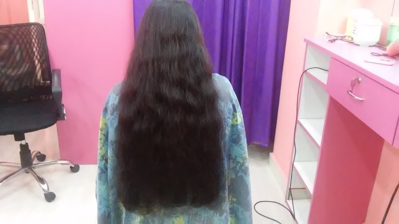 Superb Straight Cut For Long Hair At Home | Hair Style At Home | TimesNow  BreakingNews   YouTube