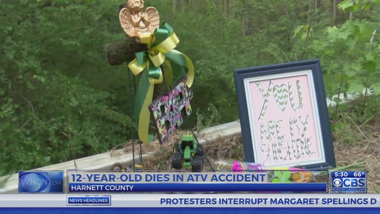 No charges after 12-year-old boy killed in Harnett County ATV accident