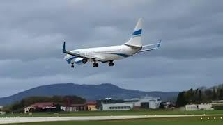 ԱՌԱՆՑ ՄԵԿՆԱԲԱՆՈՒԹՅԱՆ  Ավստրիայում փոթորկի պատճառով մարդատար ինքնաթիռը չի կարողացել վայրէջք կատարել