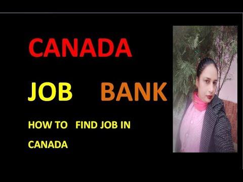 CANADA JOB BANK 2019