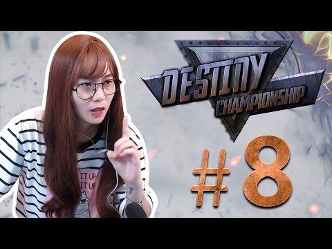 """""""BEST YI"""" vs """"BEST DA XUA"""": Ai sẽ là người chiến thắng    Destiny Championship - Tập 8"""