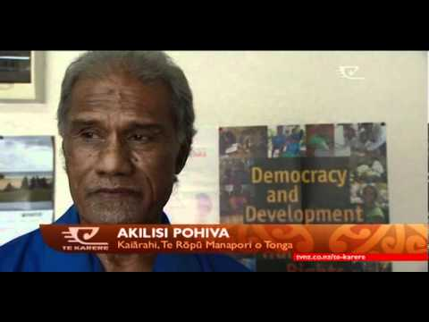 Landslide victory for Tonga's Democratic Party