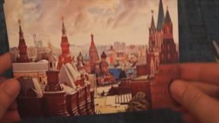 Обзор магазина Oriana-Card.ru | Покупки открыток для Postcrossing| Распаковываем посылку
