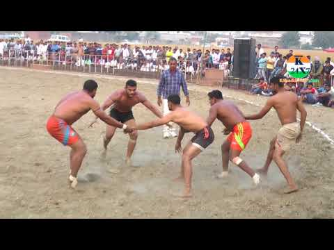 Jhamola Vs Kharak Jattan Jabardast Fighting Match At Dadupur Kabaddi Cup