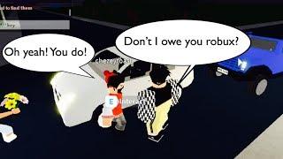 ¿No te debo robux? Experimento Social Roblox