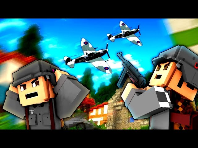 Minecraft WW2 - AIR ASSISTANCE! - S3E17 (Heroes and Generals