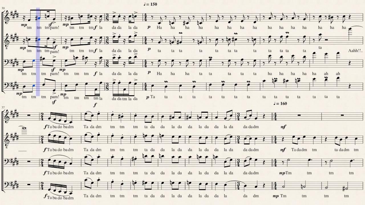 dance of the sugarplum fairy pentatonix sheet music youtube