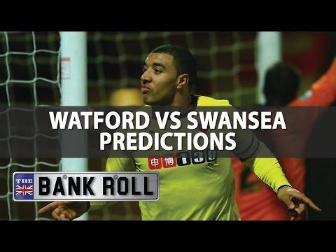 Watford vs Swansea   Premier League Match Predictions   Sat 15th April