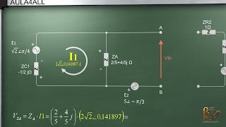 Teorema de Thevenin en AC ( corriente alterna) - Circuito equivalente Thevenin