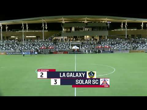 2019 Development Academy Finals: U16/17 Semifinal - LA Galaxy Vs. Solar SC