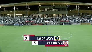 2019 Development Academy Finals: U16/17 Semifinal - LA Galaxy vs. Solar SC