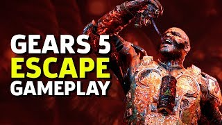 10 Minutes Of Gears 5 Escape Multiplayer Gameplay As Keegan | E3 2019