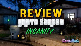 GROVE STREET INSANITY MOD | REVIEW | GTA SAN ANDREAS | UN GTA ULTRA HD