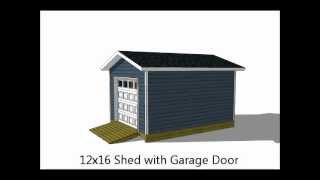 5 Exciting 12x16 Storage Shed Plans
