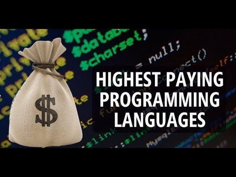 Highest Paying Programming  Languages To Learn In 2017 | Most Popular Programming Language In  world