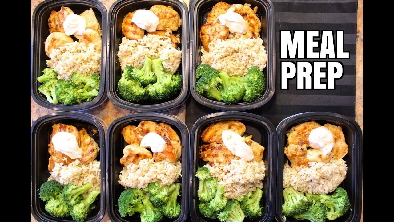 How To Meal Prep  Ep. 1  CHICKEN 7 Meals/$3.50 Each  YouTube