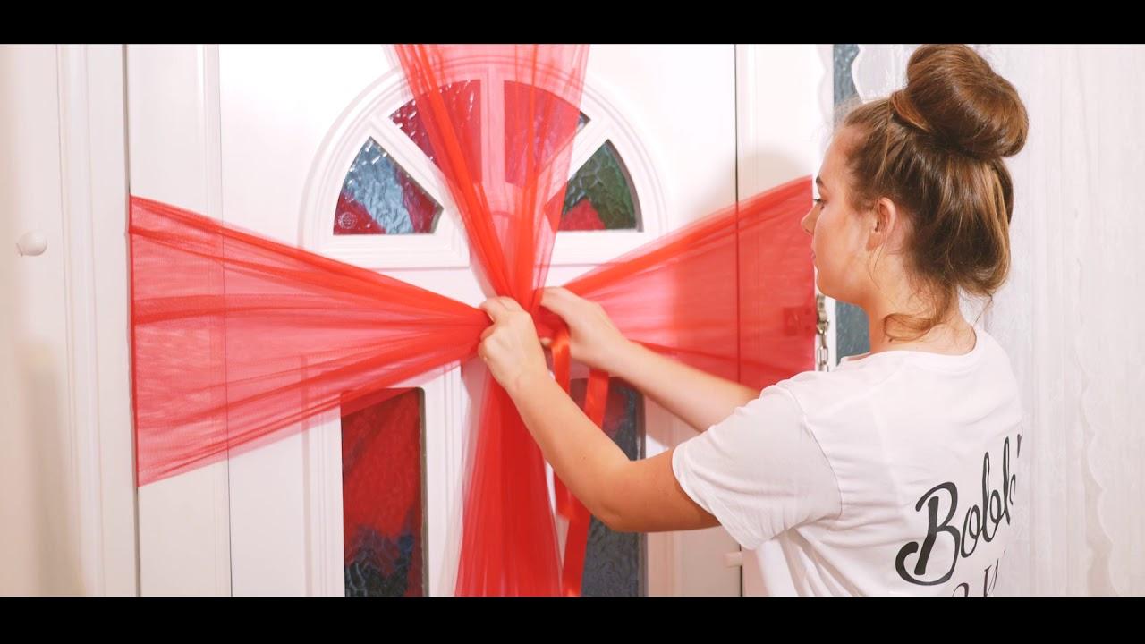 Bobbibows Uk How To Set Up Your Door Bow Youtube