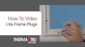 LiteFrame Frame Plugs