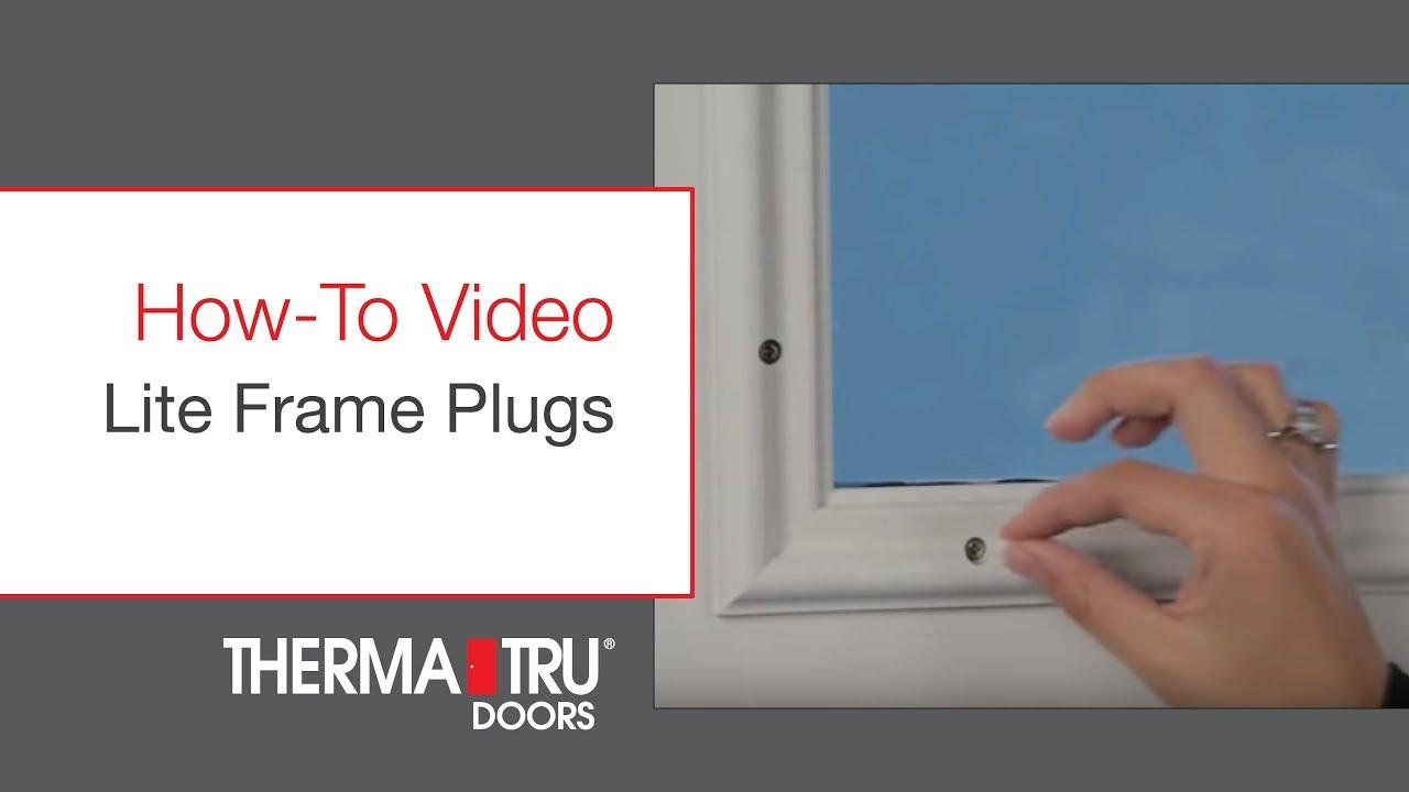 Liteframe Frame Plugs You