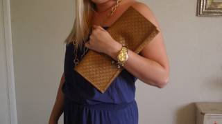 DIY - How to Make A Fast & Easy Clutch Purse Thumbnail