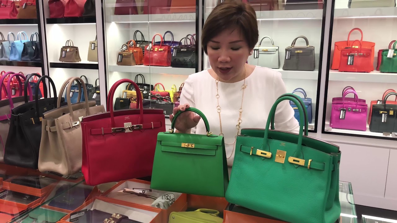 5a762a5043 How to tell the difference between a fake Hermes bag and an ...
