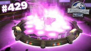 A New Glacier Hybrid!!! || Jurassic World - The Game - Ep429 HD