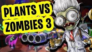 NOWE MEGA INFORMACJE o Plants vs Zombies Garden Warfare 3