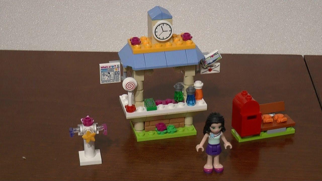 Lego Friends 41098 Kiosk Z Pamiątkami Emmy Część 2 Unboxing