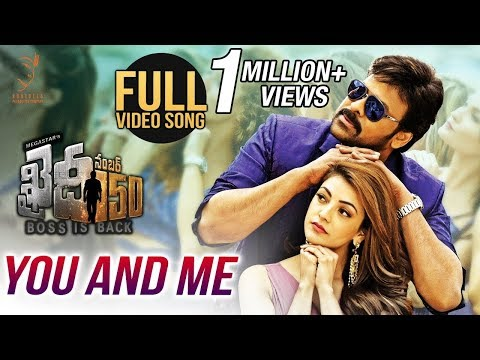 Thumbnail: You And Me Full Video Song || Chiranjeevi || Kajal Aggarwal || V V Vinayak || Rockstar DSP