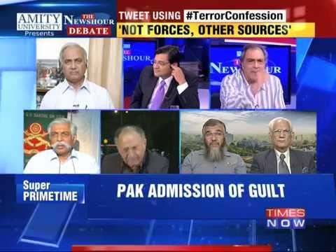 The Newshour Debate : Terror Confession - Part 1 (16th Oct 2014)