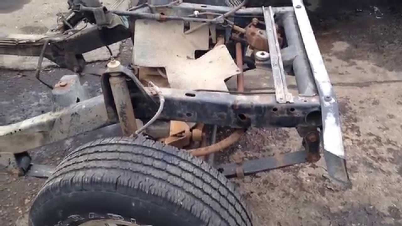 Jeep Wrangler YJ Frame Rust Free Straight For Sale - YouTube
