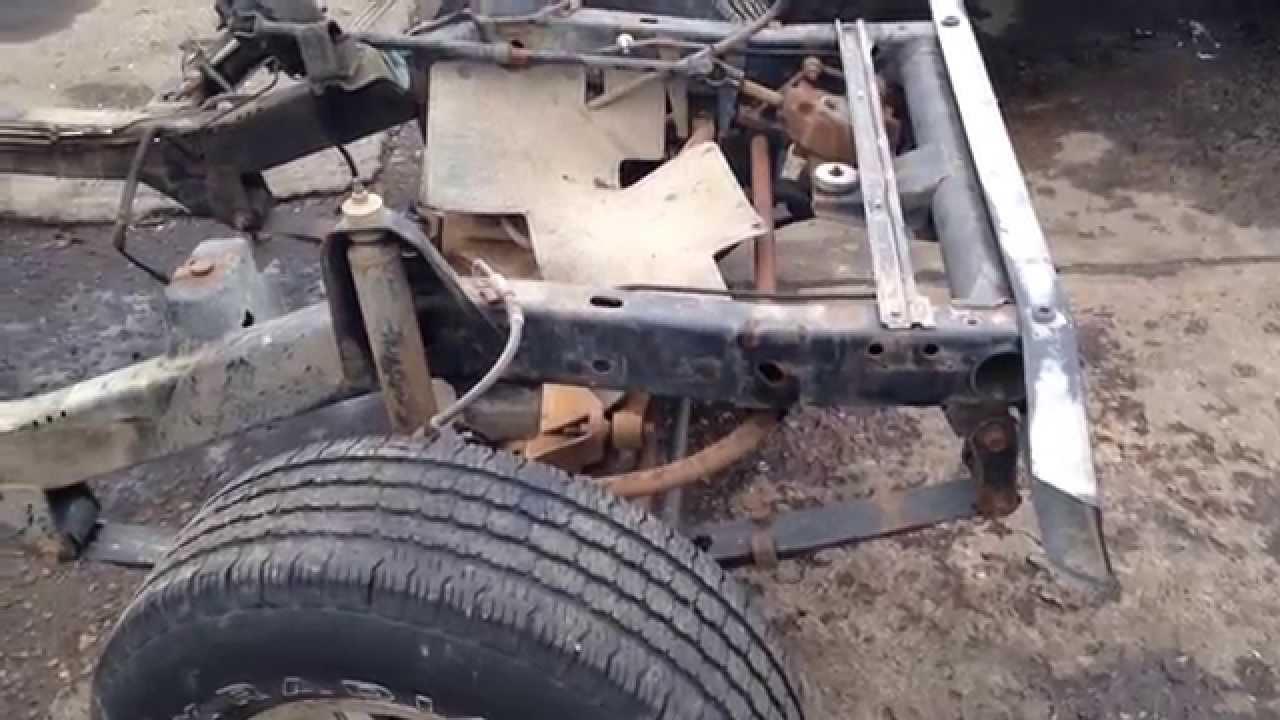jeep wrangler yj frame rust free straight for sale youtube. Black Bedroom Furniture Sets. Home Design Ideas