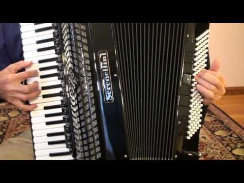 17th century French music transcription for accordion