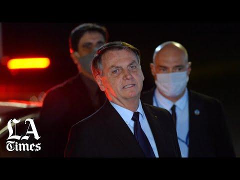 Brazil''s President Bolsonaro Tests Positive for Coronavirus