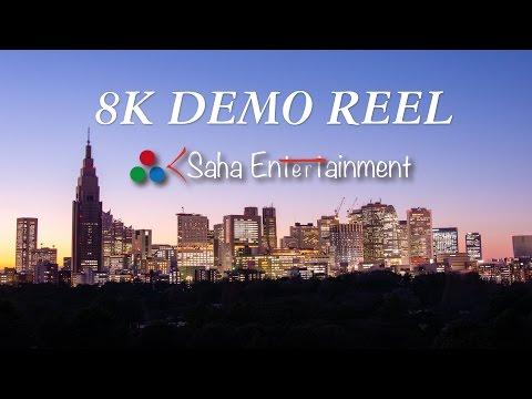 [8K 4320p] Real 8K TOKYO Time Lapse Demo Reel 8K映像東京タイムラプス