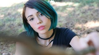 ASMR - Summer Camping With You 🌲 (tongue clicking, soft s...