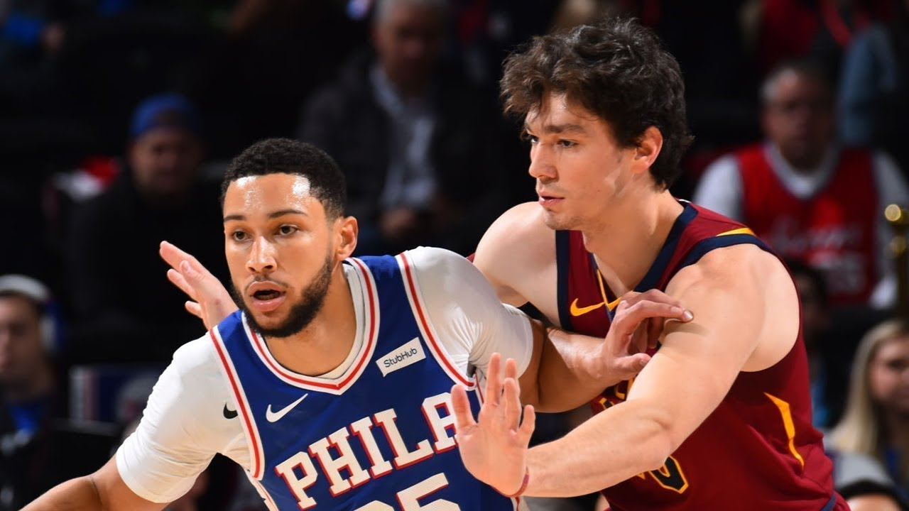 Image result for cleveland cavaliers 76ers 2019