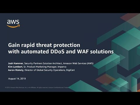 Gain Rapid Threat Protection with Automated DDoS and WAF Solutions