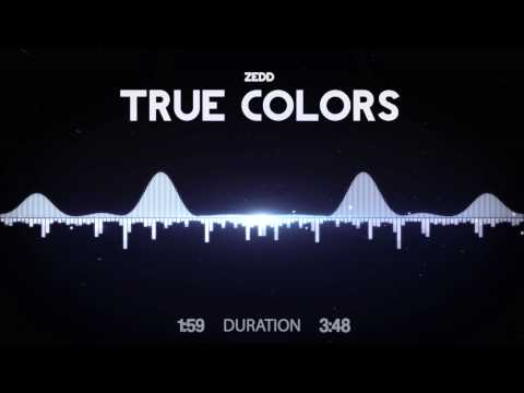 Zedd  True Colors feat. Tim JamesHD Visualized s in Description