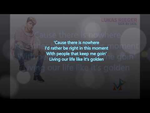 Lukas Rieger - Side By Side (Lyrics video)