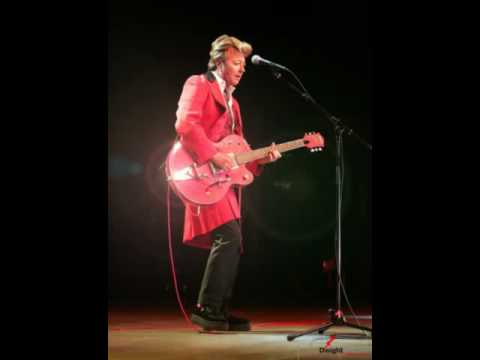 Brian Setzer Live -  Can't Help Falling in Love