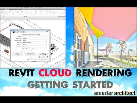 Revit Rendering I Getting Started in Autodesk 360 Rendering For BEGINNERS