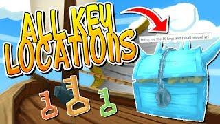 ALL KEY LOCATIONS IN ROBLOX ICE CREAM SIMULATOR!!