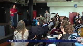 Thomas Pesquet au lycée Ango de Dieppe