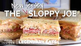 New Jersey's Iconic Sloppy Joe Is Made With Russian Dressing And Cold Cuts | Legendary Eats