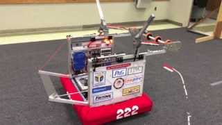 Repeat youtube video 2014 Aerial Assist 222 Tigertrons Robot