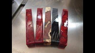 #109 Casting Acrylic Woodturning Blanks