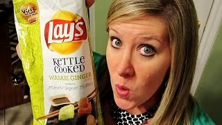 WASABI GINGER LAYS REVIEW!