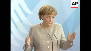 Merkel and Rwandan President comment on Zimbabwe